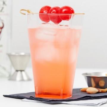 Plastic Juice Glasses