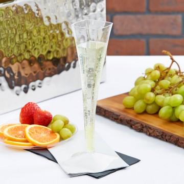 Vienreizējās šampanieša glāzes ballitei