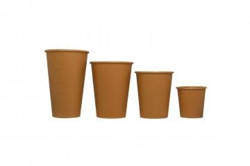 eco-friendly hot paper cups kraft