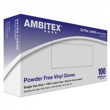 Disposable gloves vinyl powder free