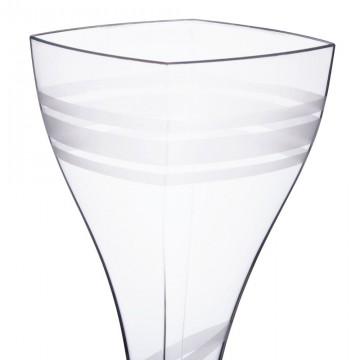 Kristaldzidras glāzes vīnām