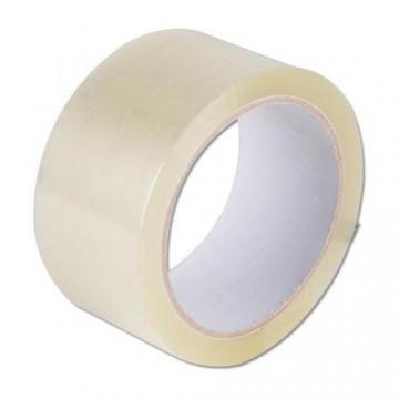 Self-adhesive tape transparent